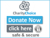 Charity choice logo - donate now safely and securely